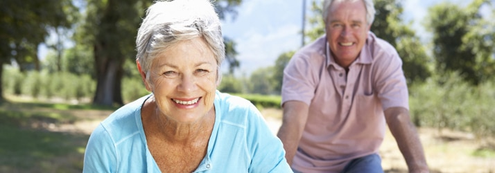 Chiropractic care in Houston TX aging-active-couple